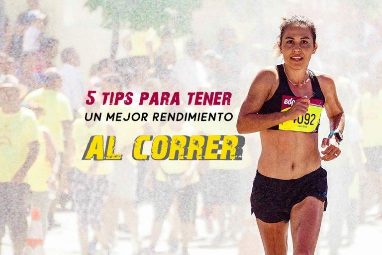 5 tips para tener un mejor rendimiento al correr