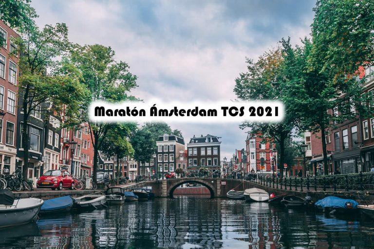 Corre en octubre el Maratón Ámsterdam TCS 2021