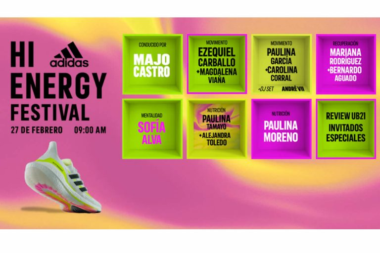 SÉ PARTE DEL HI ENERGY FESTIVAL DE ADIDAS RUNNING