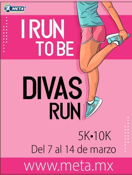 Divas Run 5k & 10k, tú que eres una mujer fuerte, activa y apasionada
