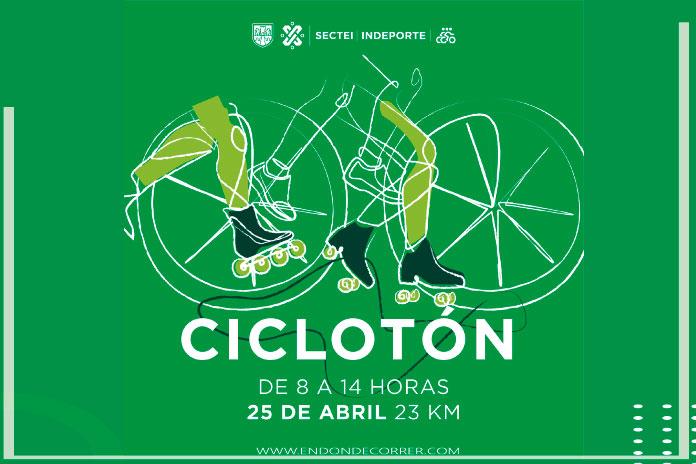 Lánzate a correr en el Ciclotón este próximo domingo 25 de abril