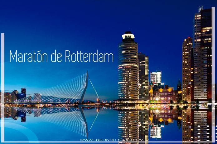 Celebra el 40 aniversario del Maratón de Rotterdam en octubre