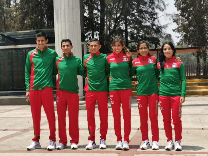 equipo de México para el Maratón