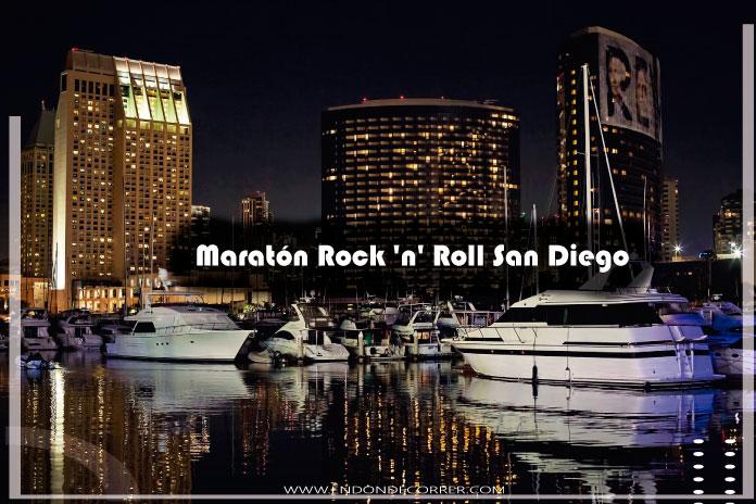 Maratón Rock 'n' Roll San Diego con carrera de 5 kilómetros y medio maratón