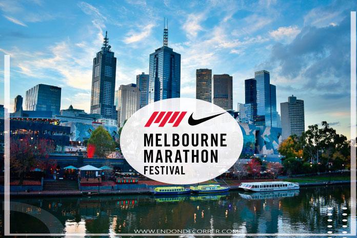 En octubre participa en el Nike Melbourne Marathon Festival 2021