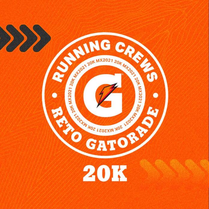 Reto Virtual Gatorade Running Crews 20k