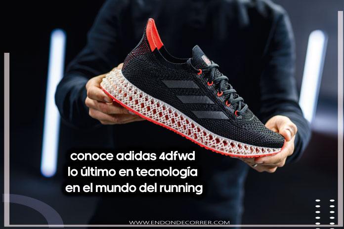 Conoce adidas 4DFWD lo último en tecnología en el mundo del running
