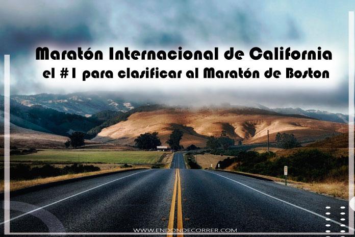 Maratón Internacional de California el #1 para clasificar al Maratón de Boston