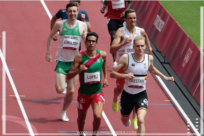 Tonatiu López gana su hit de los 800 metros con 1:46.14 y avanza a la semifinal