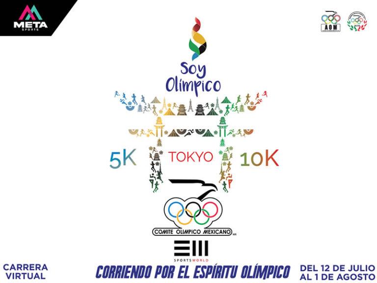 Celebra corriendo 5k & 10k en Soy Olímpico Virtual