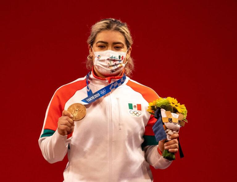 Aremi Fuentes tercera medalla para México en Tokio 2020