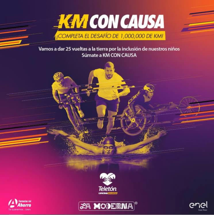 Carrera Kilómetros con Causa 2021 ( Teletón )