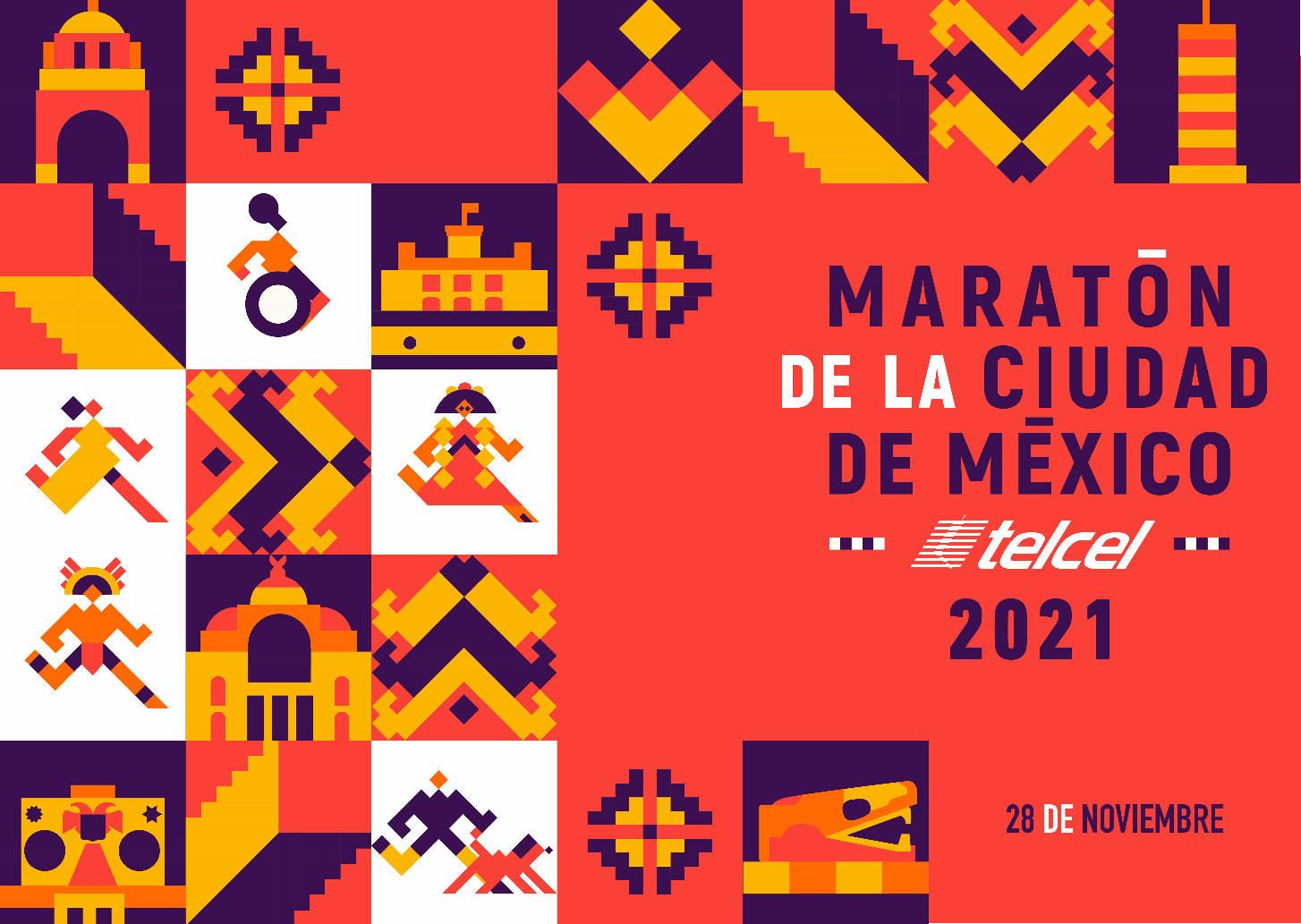 Maratón de la Ciudad de México 2021presencial