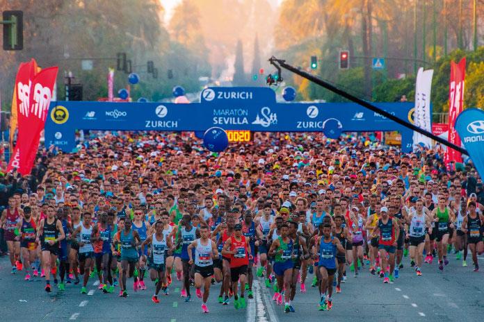 ZURICH Maratón de Sevilla 2022 corre en uno de los mejores maratones de Europa